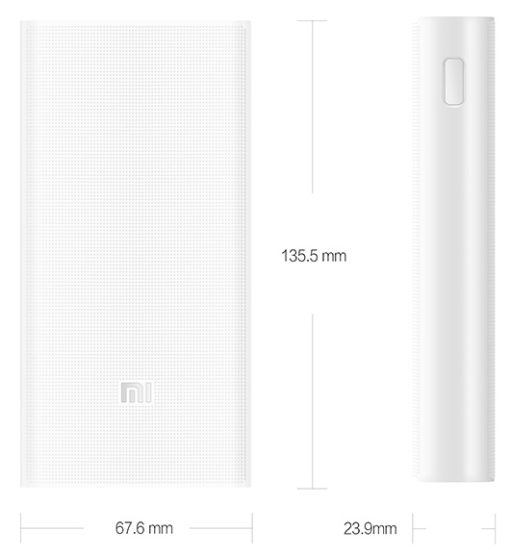 xiaom power bank 2 20000 mAh